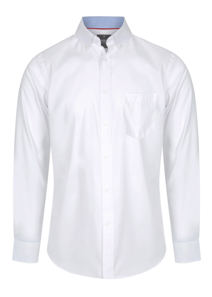 Picture of Mens Fine Oxford Long Sleeve Shirt