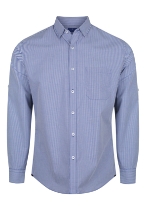 Picture of Mens Long Sleeve Gingham Shirt